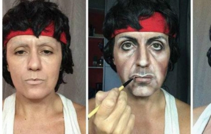 Photo : Thanks to makeup, she transforms into 12 celebrities! This is amazing...