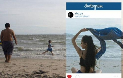 Photo : 14 photos that reveal the whole truth behind Instagram pictures!