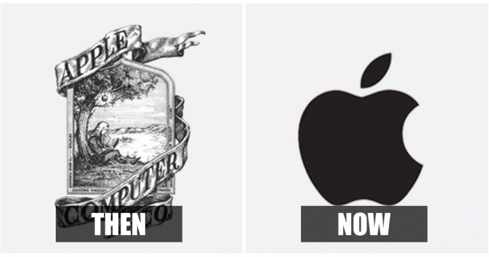 Photo : 14 major brand logos that have undergone changes over time