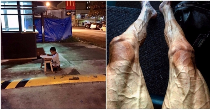 Photo : 15 photos that show human strength and determination at its best