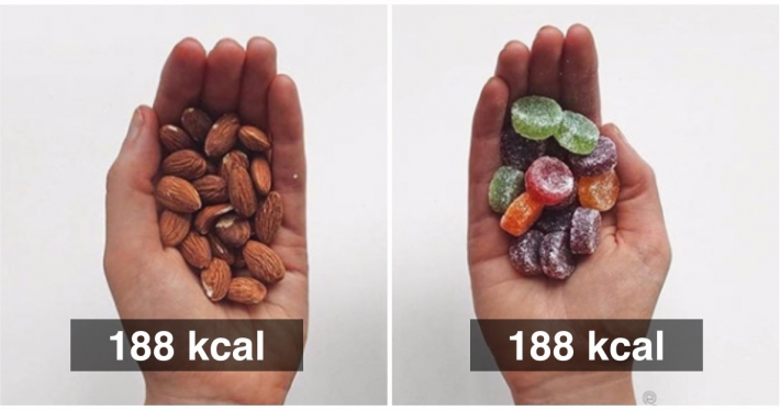 Photo : 15 fascinating calorie comparisons that will help transform your diet