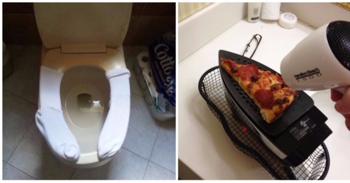 Photo : 25 crazy life hacks invented by DIY pros