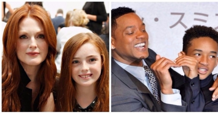 Photo : 14 celebrities who have real 'mini-me' kids