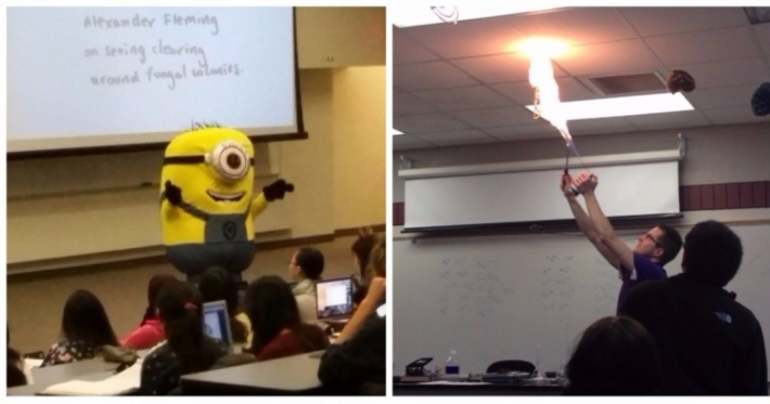 Photo : 18 awesome teachers who we wish we'd had at school
