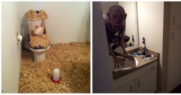 Photo : 22 hilarious pranks that will make you think twice about sharing a house