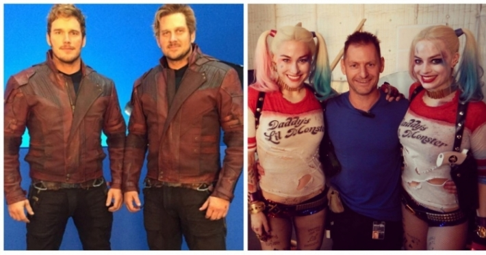 Photo : 12 photos of famous actors and their stunt or body doubles
