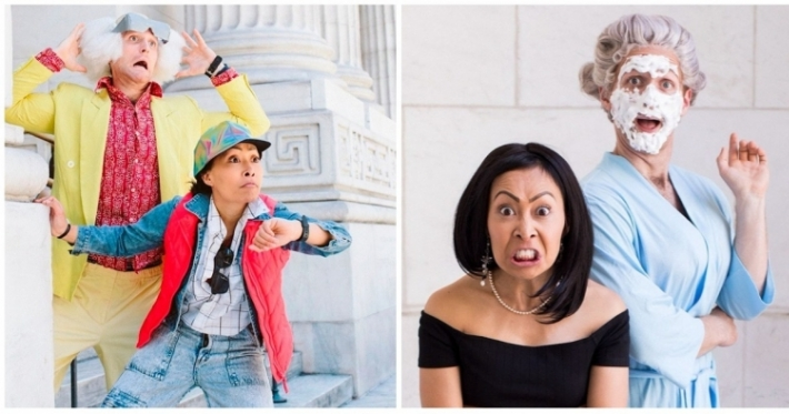 Photo : A creative engagement photo shoot that's proved to be a complete game-changer