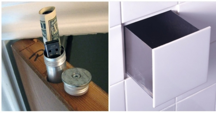 Photo : Check out these 14 objects that you can turn into clever hidey-holes