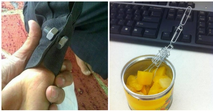 Photo : 26 inventive ways to solve some of life's daily problems