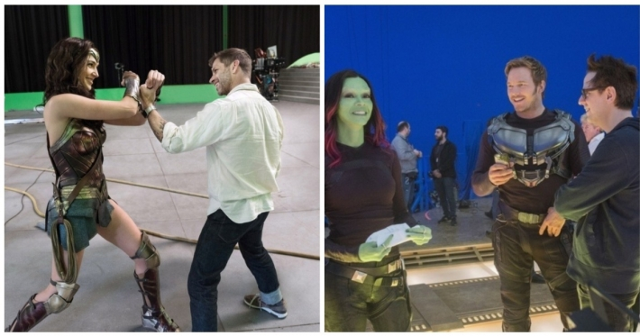 Photo : 23 behind the scenes photos from blockbuster movies